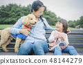 狗和Osanpo圖像 48144279