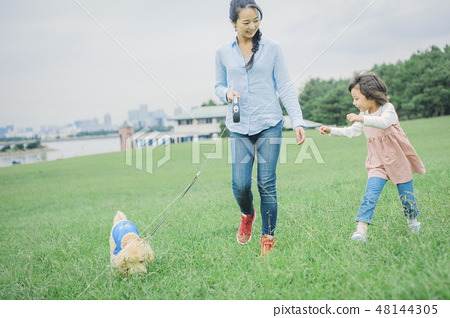狗和Osanpo圖像 48144305