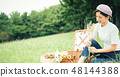 피크닉 여성 48144388