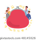 育兒教育基金概念概念例證框架 48145026