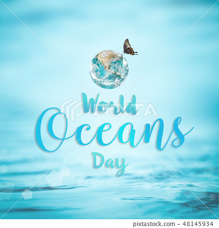 World ocean day Element of image furnished by NASA 48145934