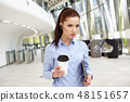 女人 女性 咖啡 48151657