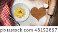Dish of traditional Italian Pasta called Penne 48152697