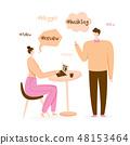Blogger illustration 48153464