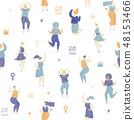 Woman dance 48153466