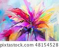 พื้นหลัง,สี,วาดรูป 48154528