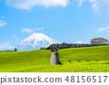 【靜岡縣】富士山和茶園 48156517