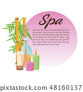Spa center and healthy lifestyle design 48160137