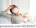 여성 마스크 질병 48160447