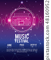Festival music flyer 48160952