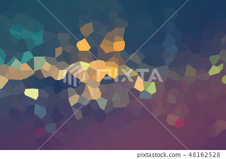 Abstract low poly shapes background 48162528
