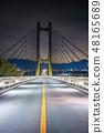 秩父竖琴桥在秩父 48165689