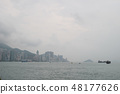 the Hong Kong Victoria Harbour 48177626