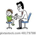 儿童接种疫苗 48179788