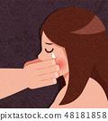 害怕 女性 女 48181858