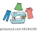 การตัดเย็บเสื้อผ้า 48184296