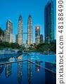 Petronas Twin towers, Kuala Lumpur, Malaysia 48188490