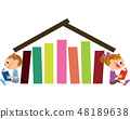 책을 읽는 아이들 48189638