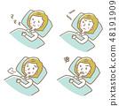 睡覺[線條·系列] 48191909