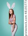 bunny, female, woman 48193773