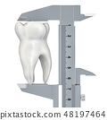 Tooth diagnosis and treatment concept 48197464