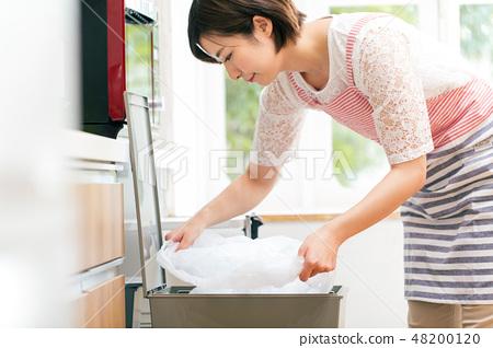Trash bin sack housewife 48200120