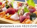 什锦新鲜生鱼片 48201549