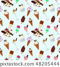 甜點 甜品 無縫的 48205444