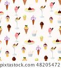 甜點 甜品 無縫的 48205472