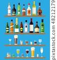 병, 술, 리큐어 48212179