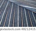 미역 직물 마구 줄무늬 텍스처 48212415