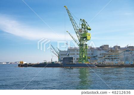[잠수함] 가와사키 중공업 고베 공장 제 4 부두 48212636
