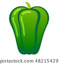 green pepper 48215429