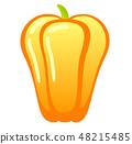 黃色辣椒粉 48215485