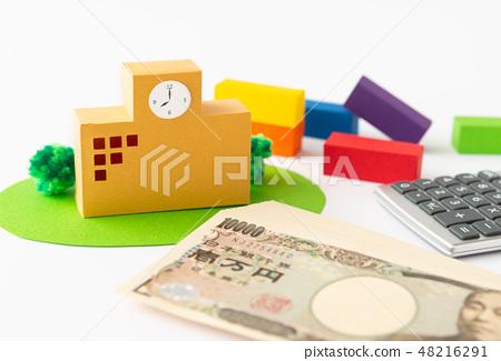 教育学校收入收入学校建设学校补助金 48216291