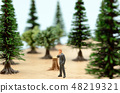 Forest and businessmen 48219321
