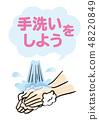 Let's wash hands 48220849