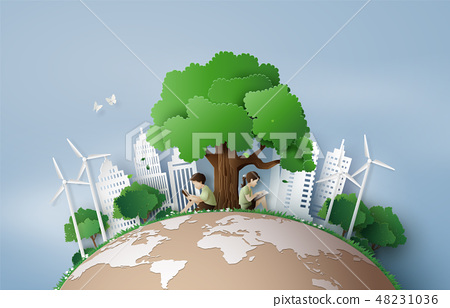 Eco and environment concept 48231036