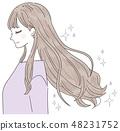 Hair hair care clean 48231752