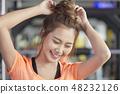 女性健身健身房運動服 48232126