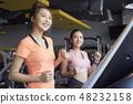 女性健身健身房运动服 48232158