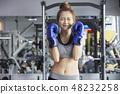 女性健身健身房運動服 48232258