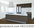 一个厨房 48232609