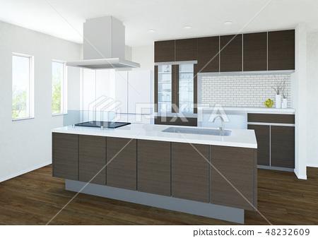一個廚房 48232609