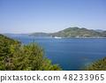 Ehime prefecture Yawatahama City Uwaumi landscape 48233965