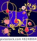 巴羅克風格 巴洛克风格 圍巾 48248664