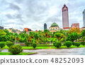 National Taiwan Museum at the 228 Peace Memorial Park in Taipei 48252093