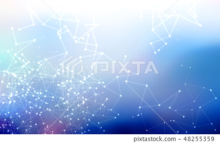 Abstract net pattern background 48255359