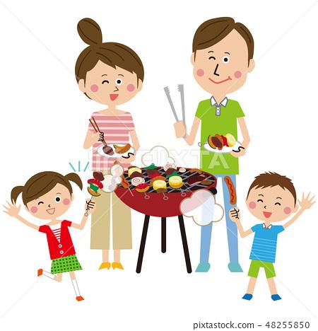 流行家庭燒烤全身 48255850