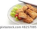 เนื้อหมูทอด 48257085